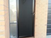 Perforated-mesh-door-in-Black