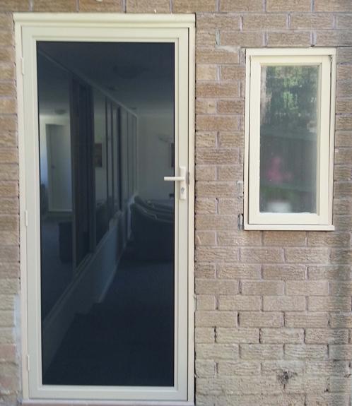 Elegant Mesh Door