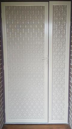 Security doors melbourne sliding security screen doors for Security doors prices